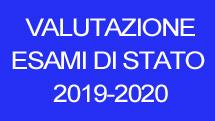 Valutazione esami di stata 2019-2020