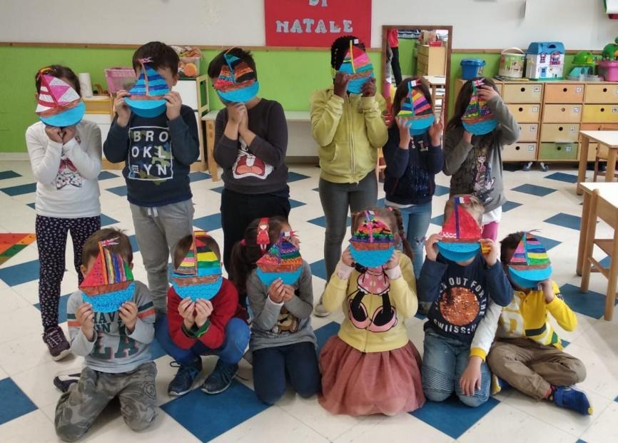 Un progetto dell'infanzia presente nel Punto d'Incontro Diversamente Uguali dello ZeBra