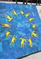 Un progetto della primaria presente nell'Edificio delle Bandiere dello ZeBra